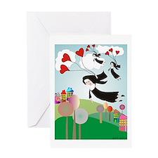 nun puzzle 10 Greeting Card