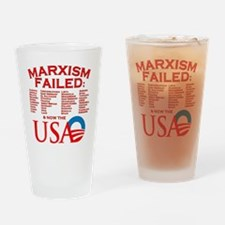 MarxismFailed_trans Drinking Glass