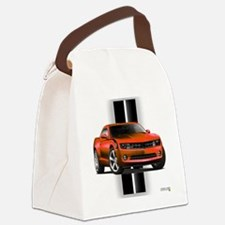 camarored Canvas Lunch Bag
