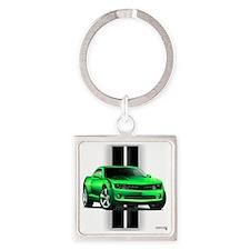 camarogreen Square Keychain