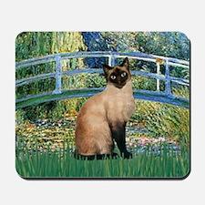 Lily Bridge & Siamese Mousepad