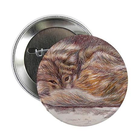 """Wolf Spirit 2.25"""" Button (10 pack)"""