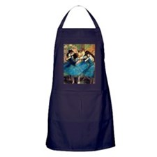 K/N Degas Blue Dancers Apron (dark)