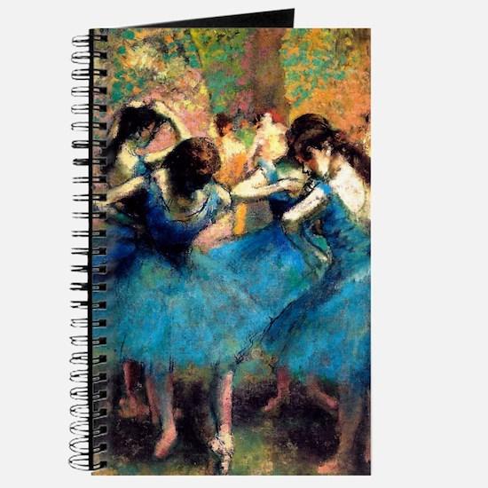 K/N Degas Blue Dancers Journal