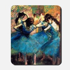 K/N Degas Blue Dancers Mousepad