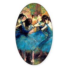K/N Degas Blue Dancers Decal