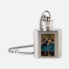 Journal Deg BluDan Flask Necklace