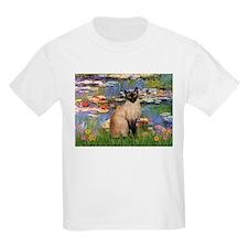 Lilies (2) & Siamese T-Shirt