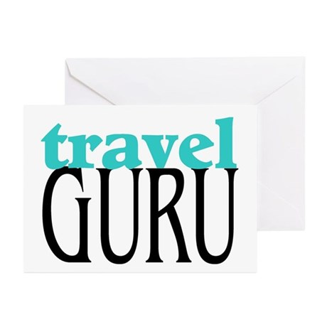 Travel Guru Greeting Cards (Pk of 10)