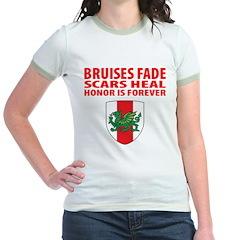 "Midrealm ""Dress Funny"" Jr. Ringer T-Shirt"