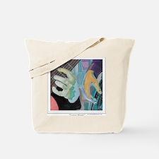 Guitar Hands c shirt Tote Bag