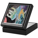 Painted acoustics Keepsake Boxes