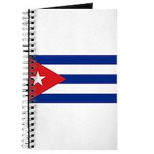 Cuban flag Journal