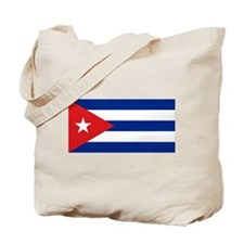 Cuban flag Tote Bag