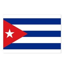 Cuban flag Postcards (Package of 8)