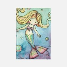 aceo cutie mermaid 2 Rectangle Magnet
