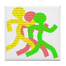 iRun_Figure_RedLetters_ThreeRunners_Y Tile Coaster