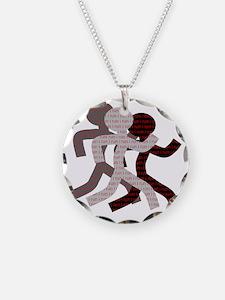 iRun_Figure_RedLetters_Three Necklace