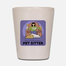 PETsitter Shot Glass