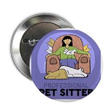 "PETsitter 2.25"" Button"