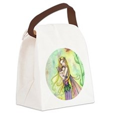 Mother and Baby Fairy Art by Moll Canvas Lunch Bag
