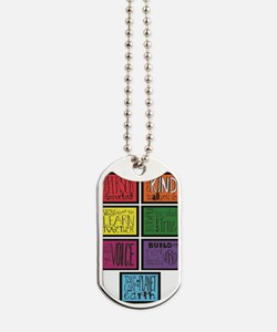 UU 7 Principles Dog Tags