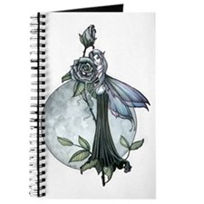 Midnight Rose Fairy Fantasy Art by Molly H Journal