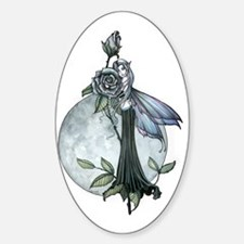 Midnight Rose Fairy Fantasy Art by Decal
