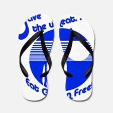 savewheat blu Flip Flops