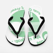 savewheat grn Flip Flops
