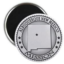 Albuquerque New Mexico Mission Magnet