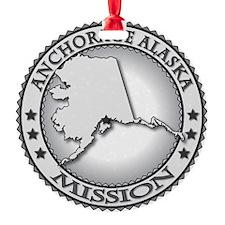 Anchorage Alaska LDS Mission Ornament