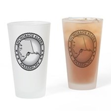 Anchorage Alaska LDS Mission Drinking Glass