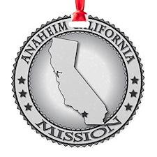 Anaheim California LDS Mission Ornament