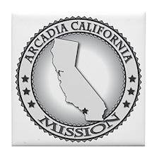 Arcadia California LDS Mission Tile Coaster