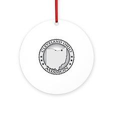 Cleveland Ohio LDS Mission Round Ornament