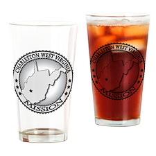 Charleston West Virginia LDS Missio Drinking Glass