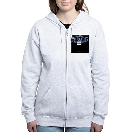 FI Hky IpadSlv554_H_F Women's Zip Hoodie