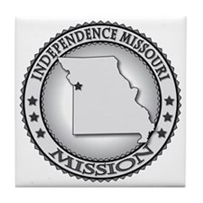 Independence Missouri LDS Mission Tile Coaster