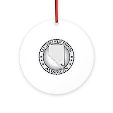 Las Vegas West Nevada LDS Mission Round Ornament