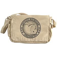 Lansing Michigan LDS Mission Messenger Bag