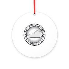 Louisville Kentucky LDS Mission Round Ornament
