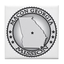 Macon Georgia LDS Mission Tile Coaster