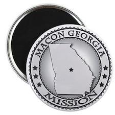 Macon Georgia LDS Mission Magnet
