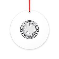 Houston Texas LDS Mission Round Ornament