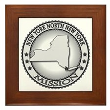 New York North New York LDS Mission Framed Tile