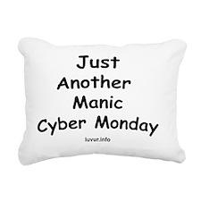 justanothermaniccybermon Rectangular Canvas Pillow