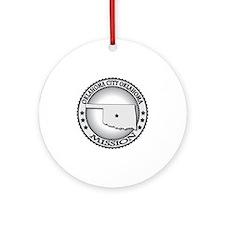 Oklahoma City Oklahoma LDS Mission Round Ornament