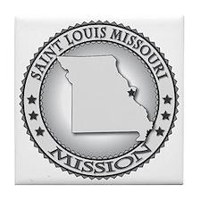 Saint Louis Missouri LDS Mission Tile Coaster