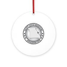 Saint Louis Missouri LDS Mission Round Ornament